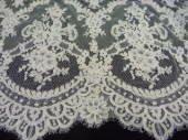 Lily A Scalloped Edge Bridal Lace